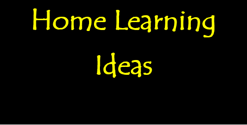 Home Learning - Week Beginning 19th May