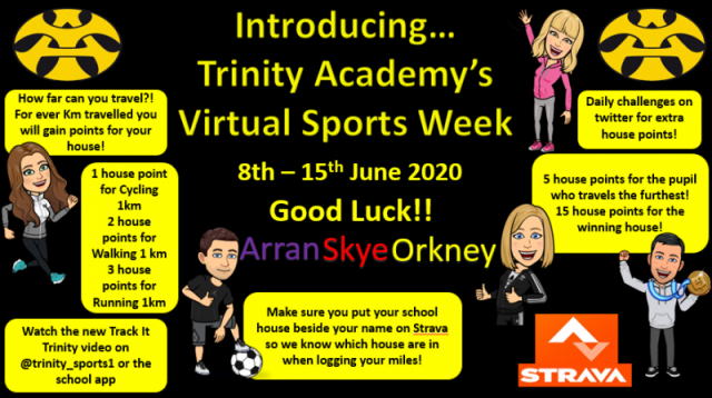 Virtual Sports Week - 8th - 12th June