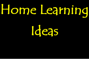Home Learning Suggestions for Thursday 2nd April